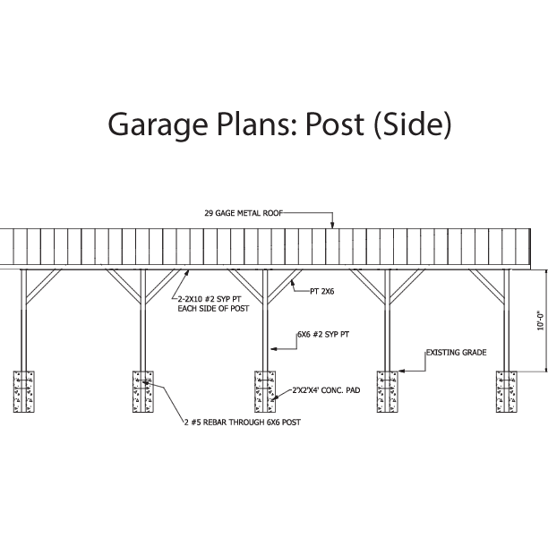 Free pole barn plans for Barn blueprints free plans